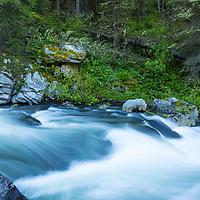 Hyalite Creek, Hyalite Canyon, Bozeman, Montana