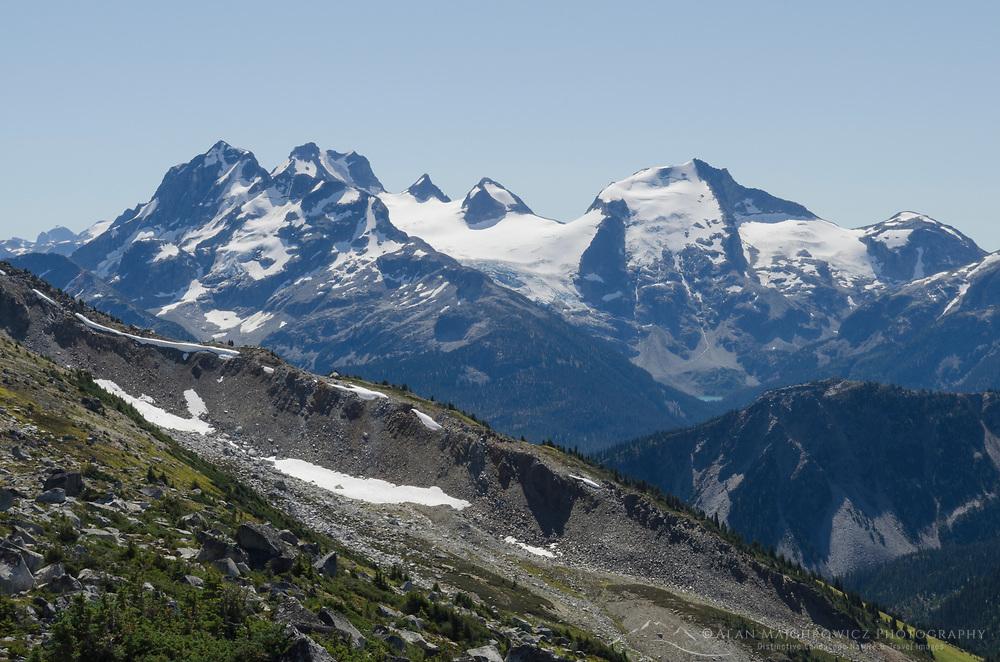 Joffre Group Coast Mountains British Columbia