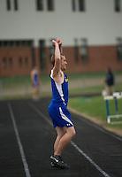Gilford High School track meet May 2, 2013.  Karen Bobotas Photographer
