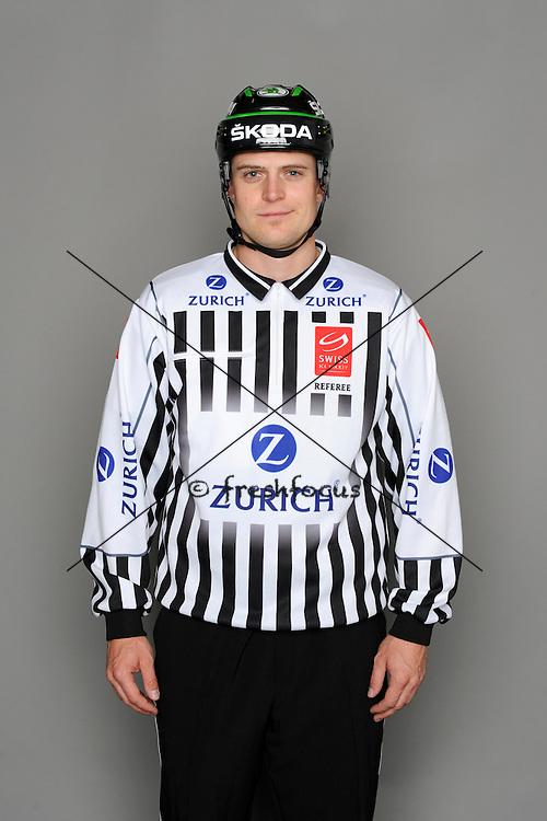 11.08.2013; Zuchwil; Eishockey - Fotoshooting Schiedsrichter;<br /> Patrick Stuber<br /> (Urs Lindt/freshfocus)
