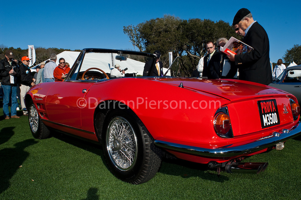 1964 Maserati 3500 GTi: Rick Grant