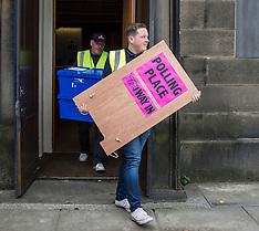 Ballot Boxes Delivery | Edinburgh | 7 June 2017