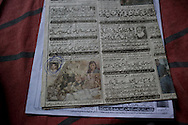 Jamila shows an old press clipping about the murder of her daughter Sobia. The article shows both the murderer, her daughter Sobia as well as the bloody crime scene where her heavily mutilated body was found.<br /> In fighting for justice, she defies the whole neighborhood, who want her to drop the criminal charges against the rapist. <br /> Besides the psychological trauma and attached stigma, the women and their families, are often harassed by the family of the rapist. They blackmail the victims and try to persuade the families into settling out of court. Karachi, Pakistan, 2011