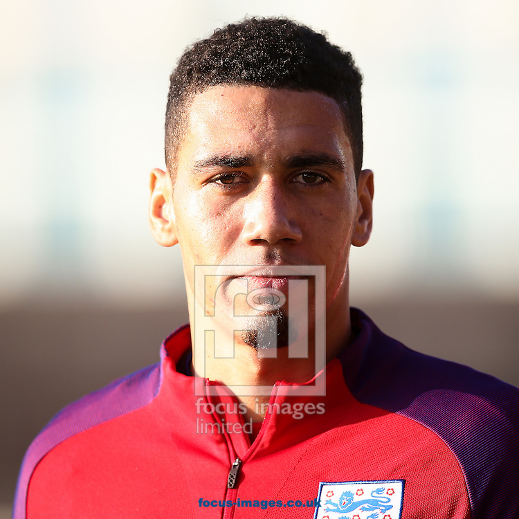 Chris Smalling (Manchester United) during the England training session at St Georges Park, Burton upon Trent<br /> Picture by Andy Kearns/Focus Images Ltd 0781 864 4264<br /> 04/10/2016