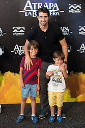 "26.08.2015, Kinepolis Cinema, Madrid, ESP, Atrapa la Bandera, Premiere, im Bild Football player Ruben de la Red attends to the photocall // during the premiere of spanish cartoon 'Capture The Flag"" at the Kinepolis Cinema in Madrid, Spain on 2015/08/26. EXPA Pictures © 2015, PhotoCredit: EXPA/ Alterphotos/ BorjaB.hojas<br /> <br /> *****ATTENTION - OUT of ESP, SUI*****"