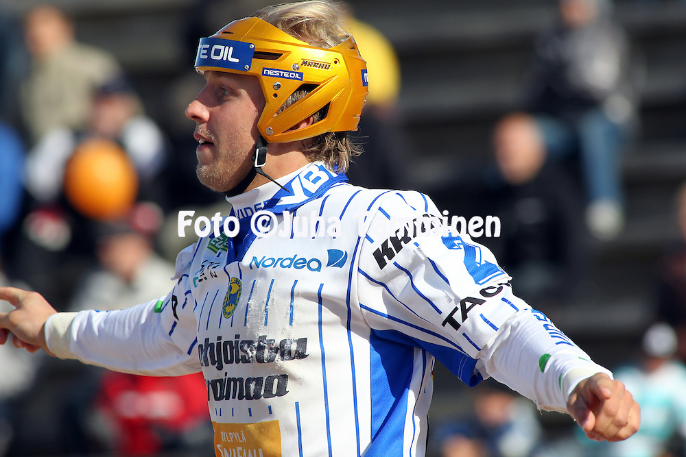 05.06.2010, Raksilan pes?pallostadion (Aina Stadion), Oulu..Superpesis 2010, Oulun Lippo - Vimpelin Veto..Aki Orava - Oulun Lippo.©Juha Tamminen.