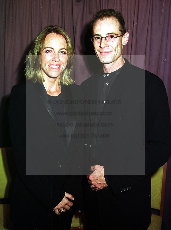 VISCOUNT & VISCOUNTESS PORTMAN,  at a party in London on 13th October 1999.MXO 46