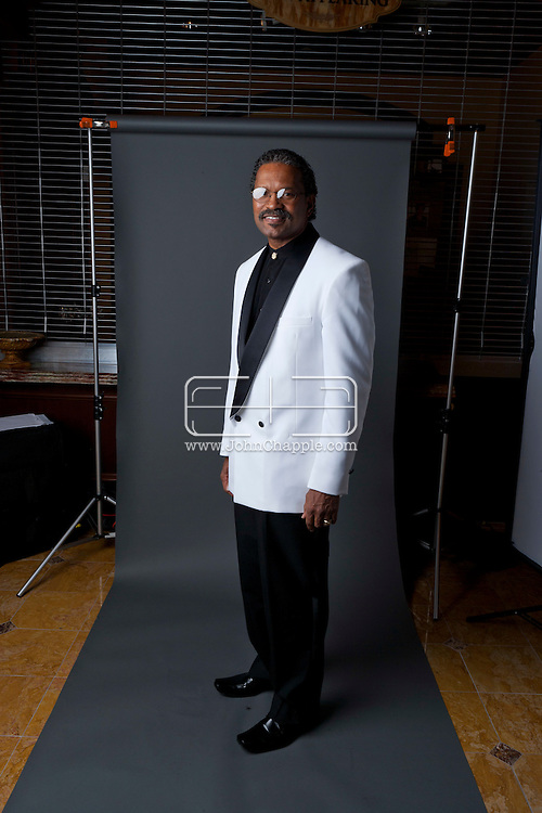 24th February 2011. Las Vegas, Nevada.  Celebrity Impersonators from around the globe were in Las Vegas for the 20th Annual Reel Awards Show. Pictured is a Billy Dee Williams Impersonator. Photo © John Chapple / www.johnchapple.com..