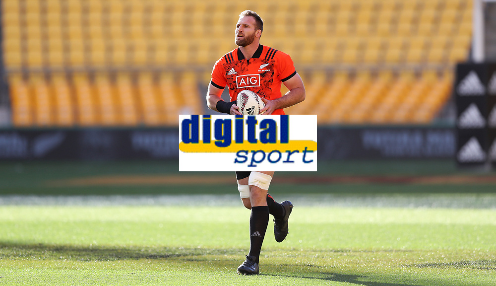 Rugby Union - 2017 British &amp; Irish Lions Tour of New Zealand - Training pre 2nd Test <br /> <br /> Kieran Read captain of The All Blacks at Westpac Stadium, Wellington.<br /> <br /> COLORSPORT/LYNNE CAMERON