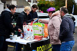 Foodbank collection point at the Memorial stadium - Mandatory by-line: Dougie Allward/JMP - 07/12/2019 - FOOTBALL - Memorial Stadium - Bristol, England - Bristol Rovers v Southend United - Sky Bet League One