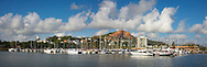 Panorama of Townsville city and waterfront, Queensland, Australia