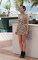 Actress Marion Cotillard at the photo call for the film Two Days, One Night (Deux Jours, Une Nuit) at the 67th Cannes Film Festival, Tuesday 20th May 2014, Cannes, France.