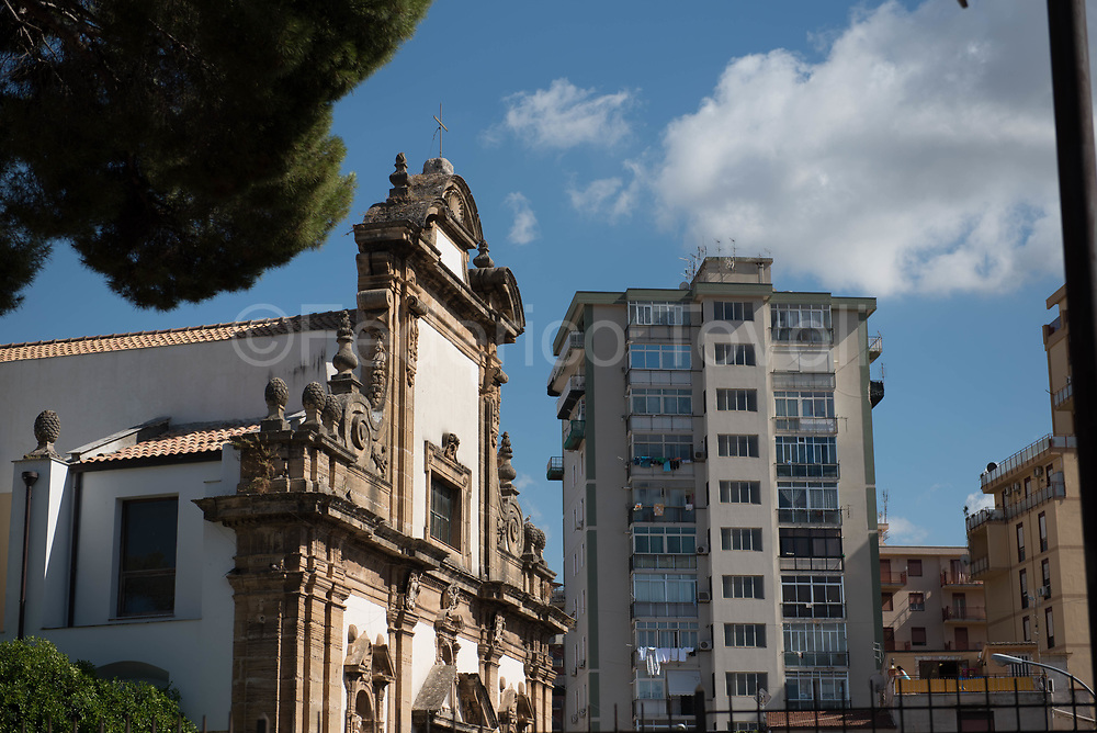 Palermo is a city with the beauty of a convivial architectural style with the palaces of the wild building