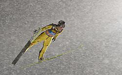 30.12.2011, Schattenbergschanze / Erdinger Arena, GER, Vierschanzentournee, FIS Weldcup, Wettkampf, Ski Springen, im Bild Markus Eisenbichler (GER) // Markus Eisenbichler of Germany during the competition of FIS World Cup Ski Jumping in Oberstdorf, Germany on 2011/12/30. EXPA Pictures © 2011, PhotoCredit: EXPA/ P.Rinderer