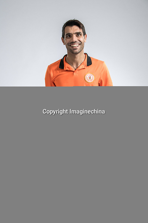 **EXCLUSIVE**Portrait of Argentine soccer player Augusto Fernandez of Beijing Renhe F.C. for the 2018 Chinese Football Association Super League, in Shanghai, China, 24 February 2018.