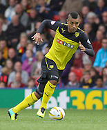 Picture by David Horn/Focus Images Ltd +44 7545 970036<br /> 28/09/2013<br /> Lewis McGugan of Watford during the Sky Bet Championship match at Vicarage Road, Watford.