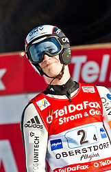 06.02.2011, Heini Klopfer Skiflugschanze, Oberstdorf, GER, FIS World Cup, Ski Jumping, Teamwettbewerb, Finale, im Bild Roman Koudelka (CZE) , during ski jump at the ski jumping world cup Trail round in Oberstdorf, Germany on 06/02/2011, EXPA Pictures © 2011, PhotoCredit: EXPA/ P. Rinderer
