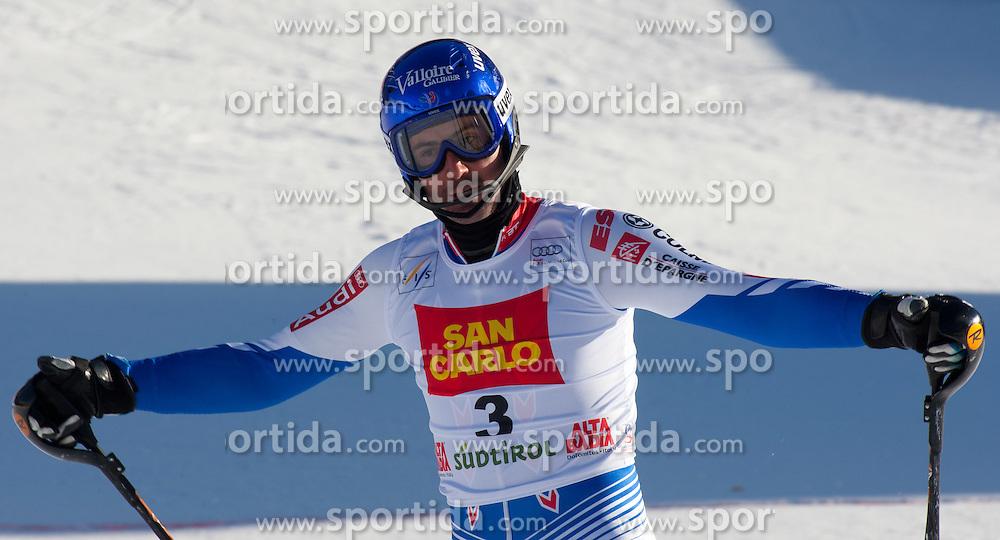 19.12.2011, Gran Risa, Alta Badia, ITA, FIS Weltcup Ski Alpin, Herren, Slalom, im Bild Jean-Baptiste Grange (FRA) nach dem 2. Durchgang // Jean-Baptiste Grange of France after his 2nd run during men's Slalom at FIS Ski Alpine Worldcup at Gran Risa in Alta Badia, Italy on 2011/12/19. EXPA Pictures © 2011, PhotoCredit: EXPA/ Johann Groder