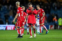Callum O'Dowda of Bristol City looks dejected after they lose 1-0 - Rogan Thomson/JMP - 18/10/2016 - FOOTBALL - Loftus Road Stadium - London, England - Queens Park Rangers v Bristol City - Sky Bet EFL Championship.