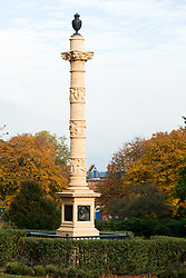 The Godfrey Sykes Memorial in Weston Park Sheffield<br />