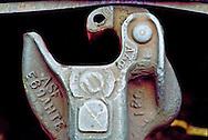 "Train (type ""E"") knuckle coupler, Grand Trunk Railroad - HOK"