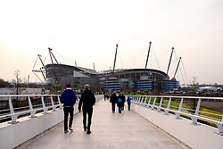 Manchester City arrive at The Etihad Stadium - Mandatory by-line: Robbie Stephenson/JMP - 17/04/2019 - FOOTBALL - Etihad Stadium - Manchester, England - Manchester City v Tottenham Hotspur - UEFA Champions League Quarter Final 2nd Leg