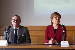 Tesco Bank Chief Executive Benny Higgins and First Minister Nicola Sturgeon linked up in Edinburgh today to launch the Scottish National Investment Bank