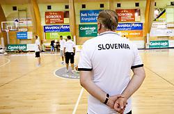 Head coach Bozidar Maljkovic during practice session of Slovenian National Basketball team during training camp for Eurobasket Lithuania 2011, on July 12, 2011, in Arena Vitranc, Kranjska Gora, Slovenia. (Photo by Vid Ponikvar / Sportida)