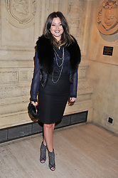 HOLLY CANDY at Cirque du Soleil's VIP night of Kooza held at the Royal Albert Hall, London on 8th January 2013.