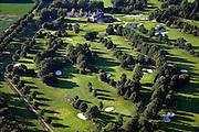 Nederland, Flevoland, Gemeente Almere, 08-09-2009. Golfclub Almeerderhout, 27-holes baan, clubhuis.luchtfoto (toeslag); aerial photo (additional fee required); .foto Siebe Swart / photo Siebe Swart