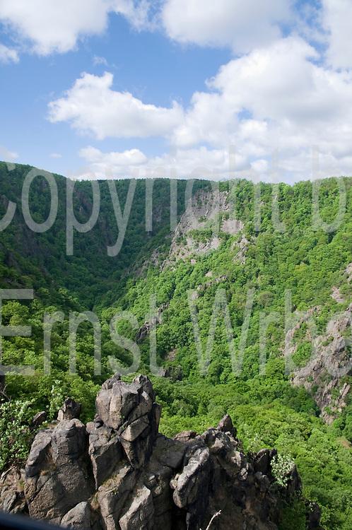 Bodetal, Thale, Harz, Sachsen-Anhalt, Deutschland | valley of river Bode, Thale, Harz, Saxony-Anhalt, Germany