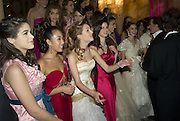 THE DEBUTANTES, Crillon Debutante Ball 2007,  Crillon Hotel Paris. 24 November 2007. -DO NOT ARCHIVE-© Copyright Photograph by Dafydd Jones. 248 Clapham Rd. London SW9 0PZ. Tel 0207 820 0771. www.dafjones.com.