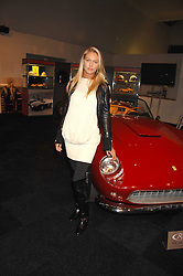 PETRA ECCLESTONE at a preview of a forthcoming sale of cars from the Bernie Ecclestone Car Collection held at Battersea Evolution, Battersea Park, London SW11 on 30th October 2007.<br /><br />NON EXCLUSIVE - WORLD RIGHTS