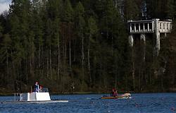 Katamaran at 49th Prvomajska regata, on April 20, 2008, in Bled Lake, Slovenia.  (Photo by Vid Ponikvar / Sportal Images)./ Sportida)