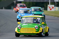 #55 Michael Green Mini Miglia during the Dunlop Mini Miglia Challenge at Oulton Park, Little Budworth, Cheshire, United Kingdom. August 20 2016. World Copyright Peter Taylor/PSP.