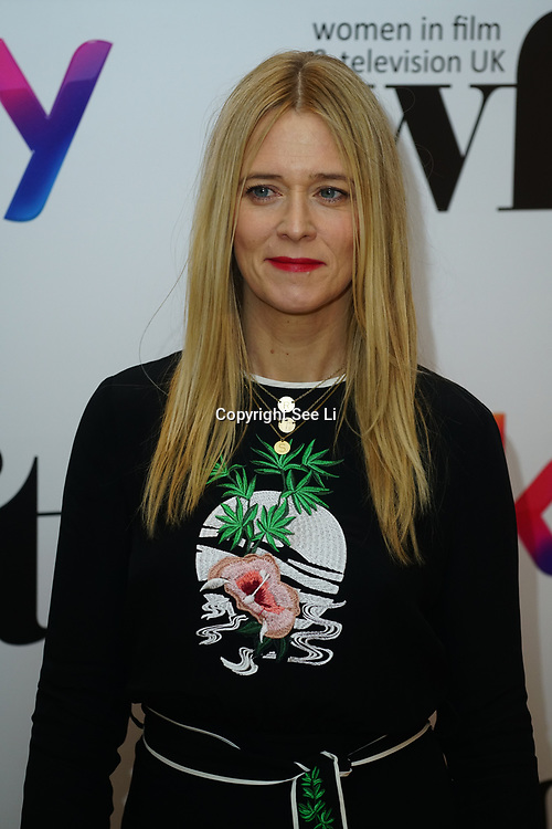 London Hilton, Park lane, England, UK. 1st December 2017. Edith Bowman attends the Sky Women in Film and TV Awards.