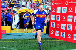 Cape Town 180217-Stomers players Stephen Kitshoff and Nizaam Carr  take the field when playing their opening game of the Rugby Super 15 at Newlands.Photograph:Phando Jikelo/African News Agency/ANA