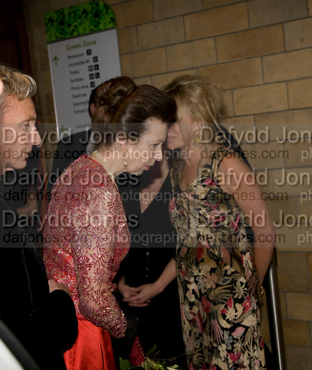 PRINCESS ROYAL; JO WOOD, Festival of Trees Gala Dinner. In aid of Save The Children.<br />Natural History Museum, London, SW7. 9 December 2008 *** Local Caption *** -DO NOT ARCHIVE-© Copyright Photograph by Dafydd Jones. 248 Clapham Rd. London SW9 0PZ. Tel 0207 820 0771. www.dafjones.com.