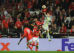 February 21, 2019 - Na - Lisbon, 21/02/2019 - SL Benfica received Galatasaray SK tonight at Estádio da Luz in the second qualifying round of the Europa League 2018/2019. Odisseas  (Credit Image: © Atlantico Press via ZUMA Wire)