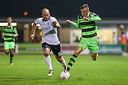 Forest Green Rovers Elliott Frear (11) runs with the ball during the Vanarama National League match between Forest Green Rovers and Eastleigh at the New Lawn, Forest Green, United Kingdom on 13 September 2016. Photo by Shane Healey.