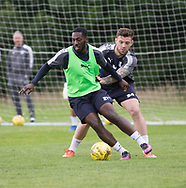 Dundee&rsquo;s Roarie Deacon and Kerr Waddell - Dundee FC pre-season training at Michelin Grounds, Dundee, Photo: David Young<br /> <br />  - &copy; David Young - www.davidyoungphoto.co.uk - email: davidyoungphoto@gmail.com