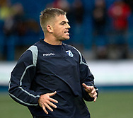 Gareth Anscombe of Cardiff Blues during the pre match warm up<br /> <br /> Photographer Simon King/Replay Images<br /> <br /> European Rugby Champions Cup Round 4 - Cardiff Blues v Saracens - Saturday 15th December 2018 - Cardiff Arms Park - Cardiff<br /> <br /> World Copyright © Replay Images . All rights reserved. info@replayimages.co.uk - http://replayimages.co.uk