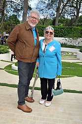 ROLF HARRIS and his wife at the RHS Chelsea Flower Show 2009 held inthe gardens of the Royal Hospital Chelsea on 18th May 2009.