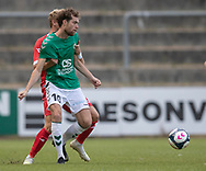 Sylvester Seeger-Hansen (AB) under kampen i Sydbank Pokalen, 1. runde,  mellem AB og FC Helsingør den 6. august 2019 på Gladsaxe Stadion (Foto: Claus Birch).