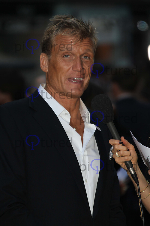 Dolph Lundgren The Expendables UK Premiere, Odeon Cinema, Leicester Square, London, UK, 09 August 2010: For piQtured Sales contact: Ian@Piqtured.com +44(0)791 626 2580 (Picture by Richard Goldschmidt/Piqtured)
