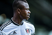 Fulham (24) Jean Michaël Seri during the Premier League match between Fulham and Crystal Palace at Craven Cottage, London, England on 11 August 2018.