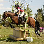 Christina Lawton and R'Romeo at the 2007 Wellpride American Eventing Championships in Wayne, IL