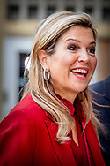 15-11-2018 UTRECHT Queen Máxima attends the 'The Future of Sustainable Trade' conference on the tenth anniversary of the Sustainable Trade Initiative (IDH). She participates in the High Level Breakfast Meeting and gives a speech. - Copyright Robin Utrecht