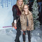 NLD/Aalsmeer/20131206 - Premiere Frozen, Ingrid Jansen en ..............