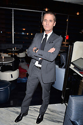 LONDON, ENGLAND 8 DECEMBER 2016: Raynald Aeschlimann at the Omega Constellation Globemaster Dinner at Marcus, The Berkeley Hotel, Wilton Place, London England. 8 December 2016.